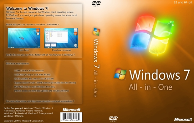 Windows 7 All the Editions ISO Direct Download Links